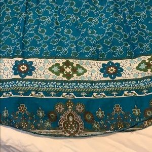 Decree Tops - Boho Hippie Top with Butterfly Sleeves Size Large
